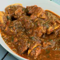 Warli Style Mutton Curry Recipe - A creamy mutton curry made from beautiful aromatic masalas, Warli style.
