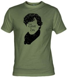 Camiseta The Game is On - sherlock