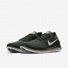 8d9f1a079dd8 Nike Free RN Flyknit 2017 Mens Running Shoes 15 Vintage Green 880843 300   Nike