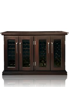 More #winestorage solutions at http://www.rosehillwinecellars.com/ #winefridges #winecabinets
