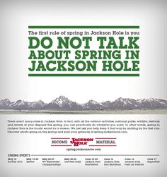 Jackson Hole Spring Campaign - Via Cactus - The Denver Egotist