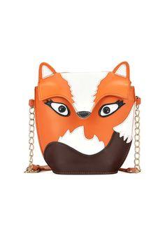 Cute Fox Graphic Shoulder Bag OASAP.com