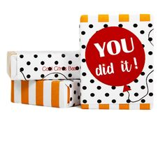 You Did It Congratulations Gift Soap