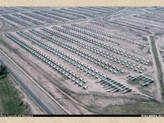 The largest aircraft cemetery in the world contains over 4,400 military aircrafts. Most of them can still fly and are uses as part of the strategic air Air Force Reserve, which is by far the world's largest.
