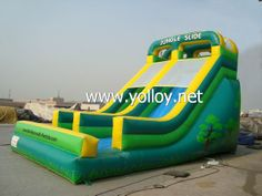 The classic jungle inflatable #slide