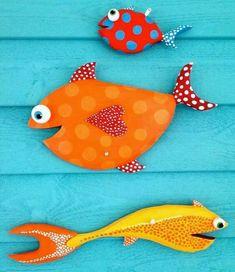 Декупаж&K – Photography, Landscape photography, Photography tips Fish Crafts, Beach Crafts, Wood Crafts, Diy And Crafts, Arts And Crafts, Arte Bar, Palm Frond Art, Driftwood Fish, Wooden Fish