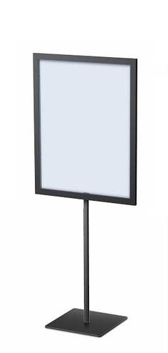 Pedestal Framettes Vertical with 6 inch base Signage Board, Signage Display, Pop Display, Frame Display, Signage Design, Display Design, Cafe Design, Display Ideas, Price Signage