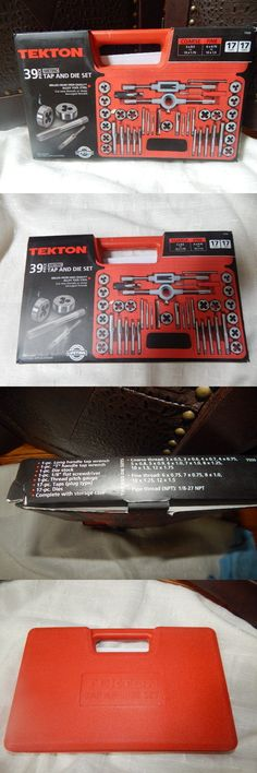 Taps and Dies 46458: Tekton 7559 Tap And Die Set, Metric, 38-Piece -> BUY IT NOW ONLY: $32.99 on eBay!