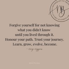 Forgiving Yourself, Trust Yourself, Relationship Issues, Relationships, Solution Focused Therapy, Excited About Life, Holistic Nutritionist, Cognitive Behavioral Therapy, Human Connection