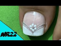 Pedicure Nail Art, Toe Nail Art, Toe Nails, Manicure, Bridal Nail Art, Toe Nail Designs, Lily, Videos, Youtube