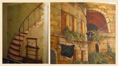 роспись стены в стиле прованс - Поиск в Google