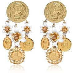 Earrings by Dolce and Gabbana