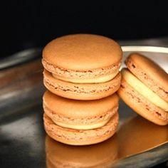 Salted Caramel Macaron Recipe [Flick your Food] eat365.com.au