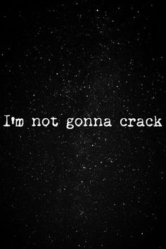 I'm not gonna crack. Lithium. <3 Nirvana---i LOVE running to this jam.
