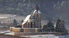 Hunawihr (France) Travel - Church, via YouTube.