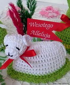 Easter Crochet, Crochet Baby, Crochet Motifs, Crochet Patterns, Crochet Basics, Easter Crafts, Happy Easter, Tatting, Diy And Crafts