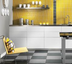 Vibe field #tile by @Daltile Tile Tile  #housetrends #freshfinds #yellow