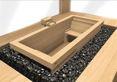 japanse hinoki ofuro bad - New Ideas Japanese Bath House, Japanese Bathtub, Japanese Soaking Tubs, Hot Tub Room, Wooden Bathtub, Tubs For Sale, Outdoor Tub, Bedroom With Bath, Small Tub