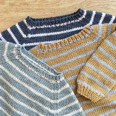 Image of Vuggestue Sweater Str. Chrochet, Knit Crochet, Pull Bebe, Baby Sweaters, Baby Knitting Patterns, Baby Wearing, Kids Boys, Kids Outfits, Men Sweater