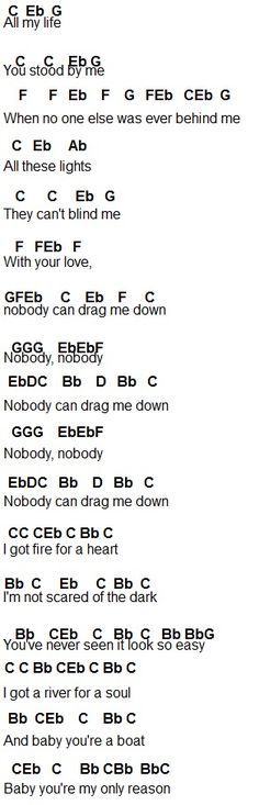 flute notes for drag me down - Google Search
