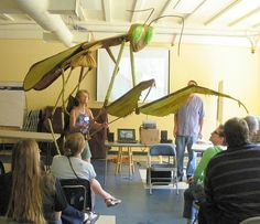 """giant praying mantis puppet. How to make giant puppets for a """"handmade parade""""."""