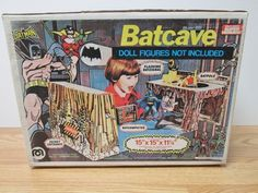 Mego Batcave Vintage Batman Original Box Never Played With | eBay