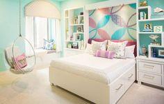 Παιδικά υπνοδωμάτια με ενδιαφέρουσες ιδέες διακόσμησης τοίχου8