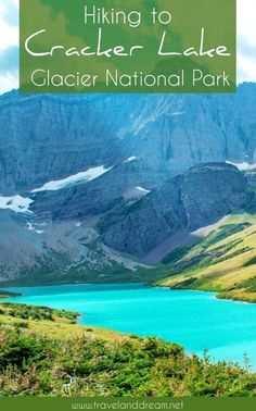 complete guide to hiking the Cracker Lake Trail in Glacier National Park. The view of the turquoise blue water of Cracker Lake at the end of the trail is absolutely stunning. Canada Travel, Travel Usa, Many Glacier Hotel, Travel Photographie, Destinations, Us National Parks, Glacier National Park Canada, Day Hike, Sierra Nevada