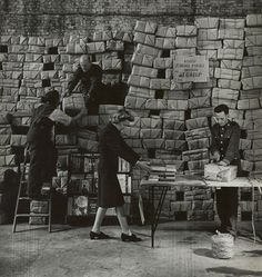Bill Brandt. Packaging Post for the War. c. 1942