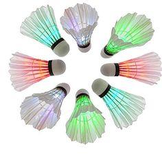 Carlton スポーツ活動のためのバドミントン LED シャトル 羽根 が光る 4個セット Carlton https://www.amazon.co.jp/dp/B01H15GJGU/ref=cm_sw_r_pi_dp_T82xxbSGMH6GE
