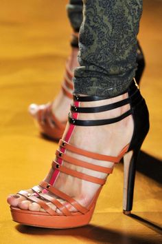 ffab0cf1abc Nicole Miller at New York Fashion Week Spring 2014 - Details Runway Photos.  Portia Parker Brown · Pumps