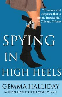 Spying in High Heels…I Want to Read It!