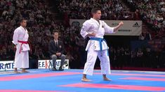 Final Male Kata. Antonio Diaz of Venezuela. 21st WKF World Karate Champi...