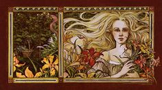 'Rapunzel' illustrated by Trina Schart Hyman (front cover combined)