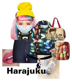 """""""Harajuku"""" by its-common-sense ❤ liked on Polyvore featuring art"""