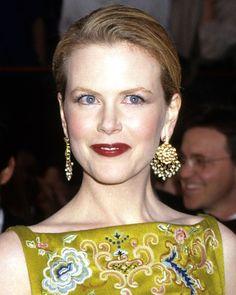 Nicole Kidman - 1997 Oscars - Martin Katz's earrings