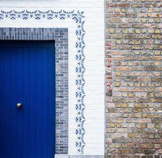 decor ideas - stenciling - reusable wall stencils - decorative border stencil