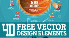 40+ Vector Design Elements - Free Download #vectorgraphics #vectorelements #freevectorfiles