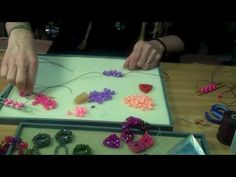 PART ONE: Cubic Right-Angle Weave with Carol Huber Cypher #Seed #Bead #Tutorials