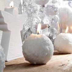 Bougies la Française Candles Snow Ball Candle at Style of Life