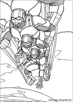 Ant Man And The Wasp Coloring Pages Avengers Coloring Avengers Coloring Pages Coloring Pages
