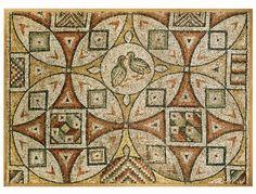 Late Roman/Byzantine Mosaic, 5th - 6th c. AD