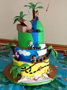 Jake and the never land pirates bday cake