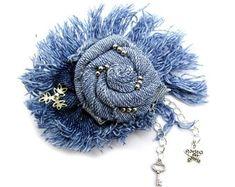 Items similar to Set Denim brooch butterfly Denim jewelry Zipper jewelry Zipper butterfly Jeans brooch Denim Blue fabric brooch Jeans Jewelry recycled denim on Etsy Jewellery Nz, Scarf Jewelry, Textile Jewelry, Fabric Jewelry, Macrame Jewelry, Diy Jewelry, Vintage Jewelry, Denim Bracelet, Denim Earrings
