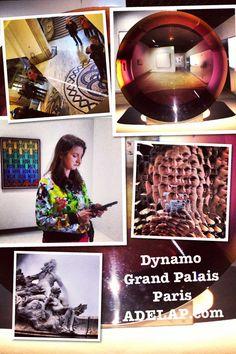 Art :: Dynamo au Grand Palais  ©http://adelap.com/