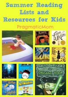 I have a lot of resources for summer reading here: Summer Reading Lists and Programs for Kids :: PragmaticMom #KidLit #SummerReading