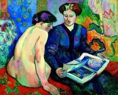 Matisse ~ Lujo, Calma y Voluptuosidad