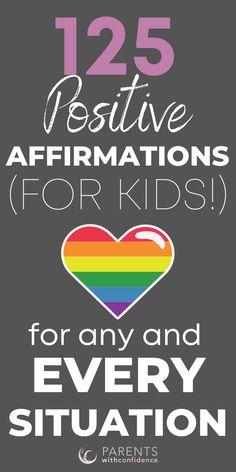 Positive affirmations for kids are one of the best ways to promote good behavior and positive thinking for kids. Parents will learn why affirmations will boost your child's confidence, self-esteem and lower anxiety and stress in childhood. #kids #affirmations #behavior #parenting #tips