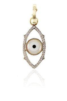 Sylva & Cie Evil Eye Pendant at London Jewelers!