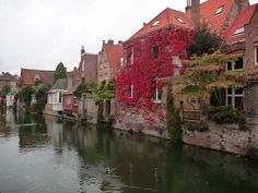 Brugge, Belgium. Unfortunately I got lost with a few of my students and we didn't see this beautiful part.